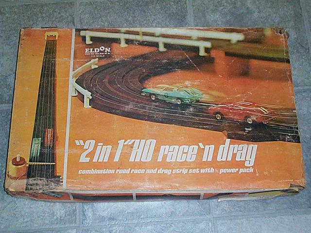 Eldon Slot Car Drag Race